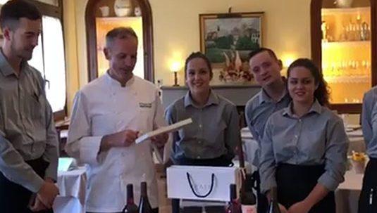 >Restaurant El Palau Vell Sant Andreu de la Barca Sorteig Bodegues Enate