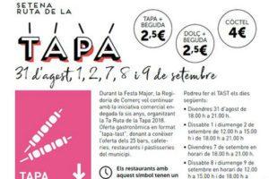Restaurant el Palau Vell Ruta de la Tapa Sant Andreu de la Barca
