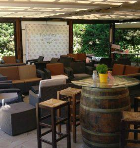 Restaurant El palau Vell, Exterior