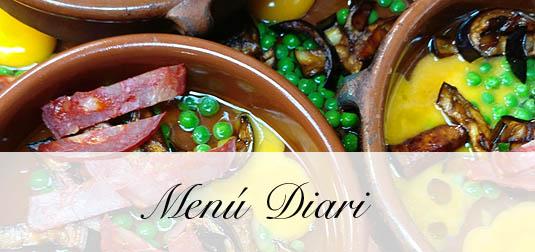 Menu Diari Restaurant El Palau Vell Sant Andreu de la Barca