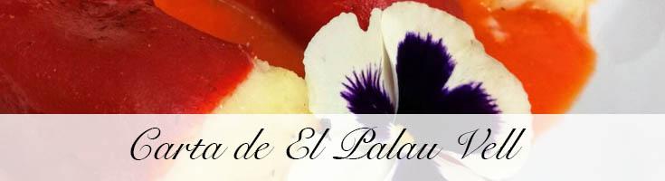 Carta de El Palau Vell Sant Andreu de La Barca
