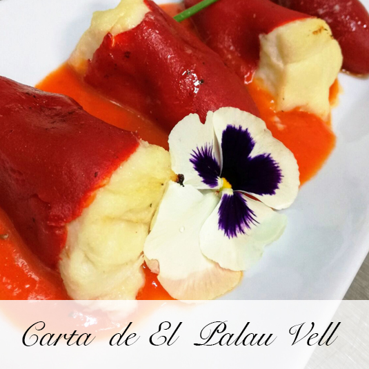 Carta de El Palau Vell Restaurant