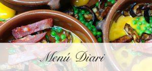 Menu Diaria El Palau Vell Sant Andreu de la Barca