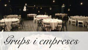 Menus Per Grups i Empreses El Palau Vell
