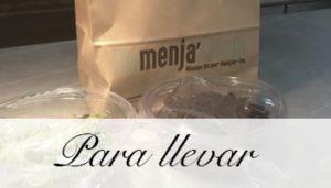 Comida Para llevar El Palau Vell Sant Andreu de la Barca