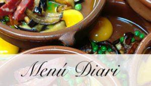 Menú Diari El Palau Vell Sant Andreu de la Barca