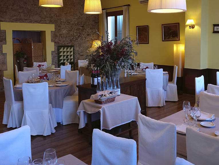 Restaurant El Palau Vell a Sant Andreu de la Barca, Fotografia Menjador