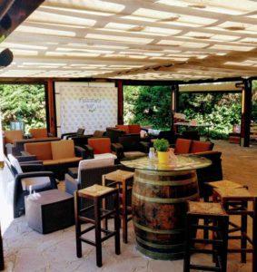 Restaurant El Palau Vell a Sant Andreu de la Barca, Fotografia Terrassa exterior
