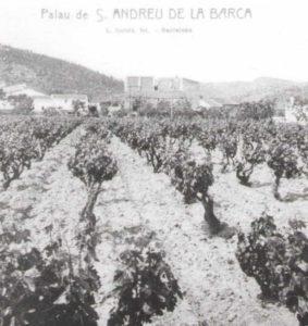 Restaurant El Palau Vell a Sant Andreu de la Barca, Fotografia històrica