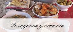 Desayunos y Vermuts en el Restaurante El Palau Vell