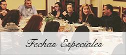 Menus de Fechas Especiales Restaurante El Palau Vell