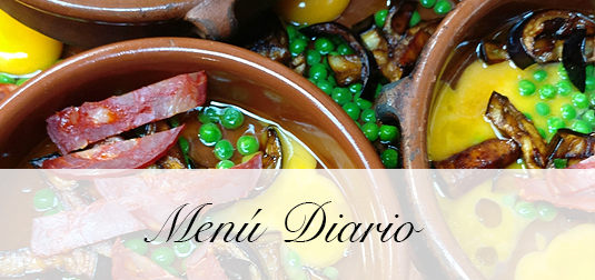 Menu Diario El Restaurant El Palau Vell